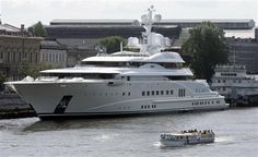 Pelorus - $130,000,000    Owner: Roman Abramovich, Russian billionaire owner of the investment company Millhouse LLC and Chelsea Football Club.    Length: 375 ft    Coolest Feature: The body guards. Rumor is that a  number of the yacht's 40 crew members are former British special forces fighters. In addition, Abramovich has let Chelsea soccer stars use the yacht for their honeymoons
