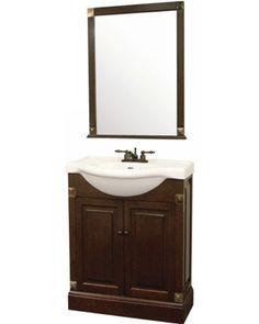 24 Inch Dark Espresso Single Sink Bathroom Vanity   Manhattan Espresso  Single Sink 24 Inch Bathroom Vanity Combo Water ...   Bathroom   Pinterest    24 Inch ...