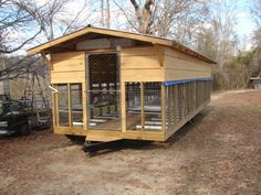 larger scale rabbit house idea