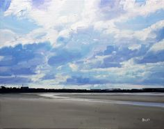 An artist in Troon, Ayrshire, Scotland. Paints landscapes and seascapes, from woodlands to shorelines. Interested in the influence of the sky, and its changing mood and atmosphere. Thumbnail gallery of his paintings. Landscape Paintings, Abstract Paintings, Sky Painting, Sculptures For Sale, Garden Art, Scotland, Contemporary Art, Original Paintings, Exterior