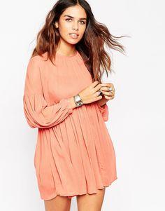 ASOS PETITE Soft Babydoll Dress