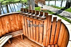 Wooden Hot Tubs In Gardens