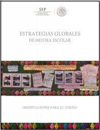 Resultado de imagen para estrategias globales de mejora escolar para preescolar