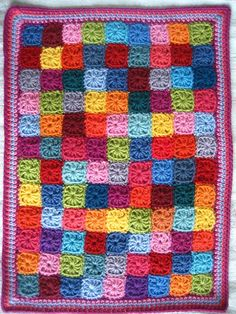little squares doll blanket - stash buster (instructions at bottom here: http://attic24.typepad.com/weblog/2013/02/little-squares.html)