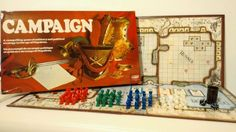 Campaign Board Game 100% Complete 1976 Strategy Napoleon Russian Wars | eBay