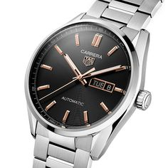 TAG Heuer - Carrera Three Hands, new 2021 collection | Time and Watches | The watch blog Watch Blog, Tag Heuer, Sport Watches, Carrera, Chronograph, Omega Watch, Sporty, Hands, Accessories