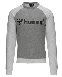 Hummel Sport CLASSIC BEE CREW – Sweatshirt – Gråmeleret