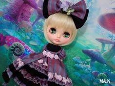 Custom Blythe ☆ Alice ☆ ☆ [M & N]  Buy her here:   #blythe #blythedolls #kawaii #cute #rinkya #japan #collectibles #neoblythe #customblythe