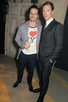 Ben and Andrew at The Young Bright Things Gala, 18th September 2014