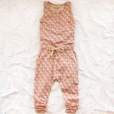 Ice Cream Jumpsuit - too adorable! Little Fashion, Kids Fashion, Cream Jumpsuit, Cool Kids Clothes, Precious Children, Junior, Stylish Kids, Overall, Kid Styles
