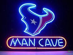 Man Cave Houston Texans Neon Sign NFL Teams Neon Light