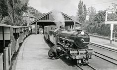 Romney, Hythe and Dymchurch Railway - Wikipedia, the free encyclopedia Romney Marsh, Steam Engine, Rye, Trains, Miniature, Old Things, Green Goddess, History, Ancestry