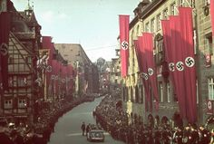 Nuremberg, Germany, 1938 | A Brutal Pageantry: The Third Reich's Myth-Making Machinery, in Color | LIFE.com