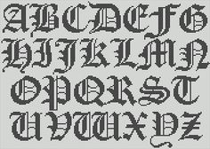Cross stitch alphabet – explore your creativity! | stevenparker's Blog on Artician