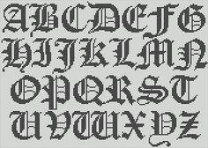 Cross stitch alphabet – explore your creativity! | stevenparker's Blog on Artician