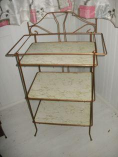Vintage Vanity Stand.BarPlanttelephonebathroom by kickstartvintage, $40.00