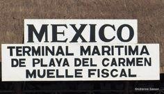 Ferry Terminal Between Playa del Carmen and Cozumel  #Playadelcarmen #Mexico