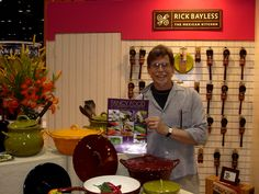 Meeting Rick Bayless at the 2007 Housewares Show in Chicago.