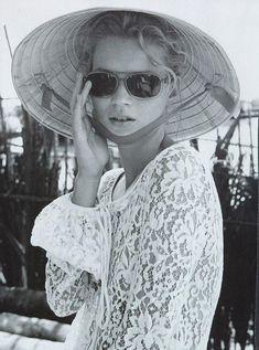Kate Moss #lace