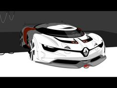 2012 Renault Alpine A110-50 Concept - Design Sketch 2