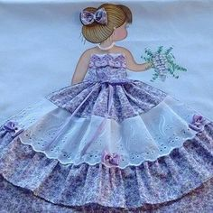 Applique Quilt Patterns, Doll Sewing Patterns, Sewing Appliques, Halloween Wood Signs, Halloween Diy, Baby Painting, Designs For Dresses, Girls Quilts, Wine Bottle Crafts