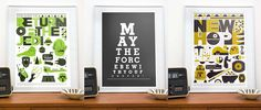 May the force (& this Star Wars art print) be with you