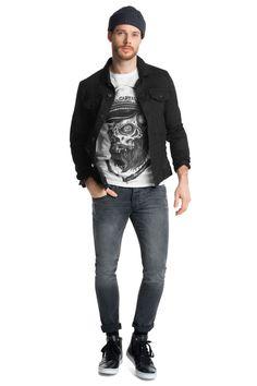 edc : Camiseta en jersey de algodón en la Online-Shop