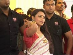 Rani Mukherjee at Esha Deol's wedding.
