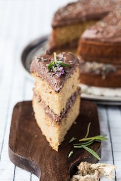 Incredible Thermomix Earl Grey Lavender Cake. Perfect recipe for afternoon tea.
