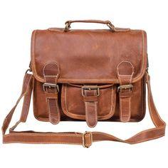 c316bb9e13872 MAHI Leather - Mini Leather Harvard Satchel Messenger Bag... ( 110)