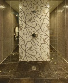 mosaic pixall by sicis - Love this tile design.  Stunning!