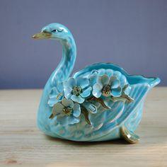 Vintage swan figurine
