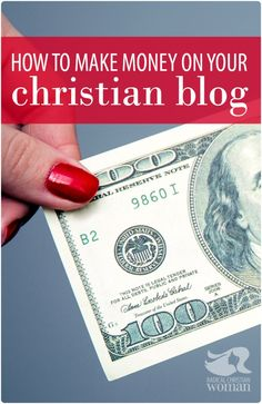 """Let's face it. Money and God can get funky...fast. The idea of making money on a Christian blog makes me feel like I'm """"selling Jesus""""...not cool. Here's some surefire tips for staying true to your faith, while making a living doing what God's called you to do."""
