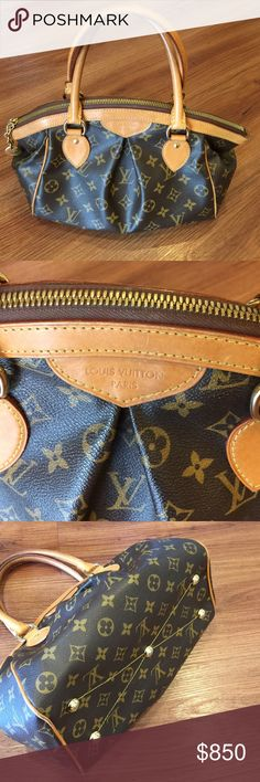 Louis Vuitton Tivoli PM just reduced!!! Gently used condition. Light wear to corners. 2 inside pockets. Great alternative to speedy. Comes with dust bag. Louis Vuitton Bags Satchels