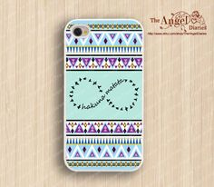 Hakuna Matata, infinity & Aztec iPhone 4 Case, iPhone 4s Case, iPhone 4 Hard Plastic Case,Personalized iPhone Case--water proof on Etsy, $7.99