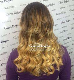 Balayage / blonde hair / cabello amarillo