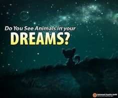Question of the DAY: Do you see animals in your dreams? Want to find out what does it mean? Let us know in the comments below and we'll provide you the general interpretation of your dreams! #DreamInterpretation