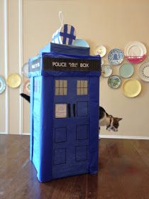 doctor who party tardis piñata!