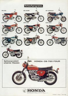 1970_HONDA CB750Four K0 brochure.GERMANY_08