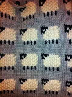 Reversible Sheep Baby Blanket,