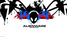 Alienware black & White