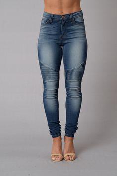 - High Waisted - 5 Pocket Design - Moto Style - Skinny Leg - Amazing Stretch - 49% Sirorayon 32% Cotton 17% Polyester 2% Spandex