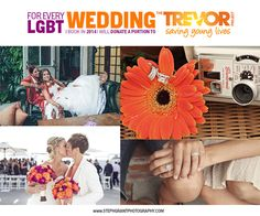 Gay and Lesbian Wedding Photography // the Trevor Project