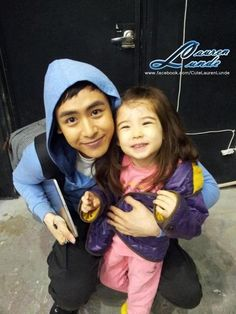 [♥][TWEET] 25052012 || Lauren Lunde (로렌)'s (@LaurenLunde) twitter update >> It was fun doing the commercial with you @Khunnie0624 . Thanks for the yummy American candy || [N/T] The little girl is from the new 'Coway CF' along with 2PM & also from 'Hello Baby season 5' along with MBLAQ. #2PM #Nichkhun #LaurenLunde