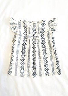 Handmade Vintage Style Linen Baby Dress | HarrisonHandcraftsCo on Etsy