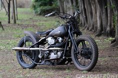 "Custom Harley-Davidson EL ""Knucklehead"" 1938 bobber by Bootleg 