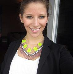 Neon necklace  Wimmer Chicken Dinner