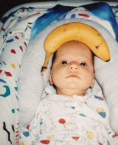 My parents were 21 years ahead of the curve. Me, for scale.  Click for more Funny Pictures --> http://www.funnypicshub.com