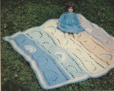 baby baby blanket free crochet pattern