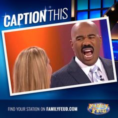 #CaptionThis #FamilyFeud fans!! smile emoticon